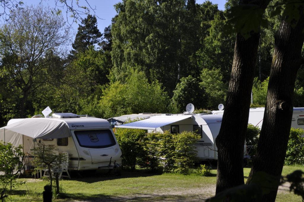 Camping in  Lietzow auf Rügen